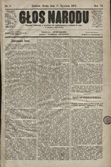Głos Narodu. 1898, nr8
