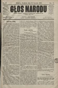 Głos Narodu. 1898, nr12