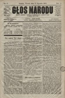 Głos Narodu. 1898, nr19