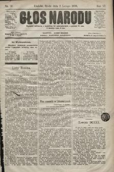 Głos Narodu. 1898, nr26