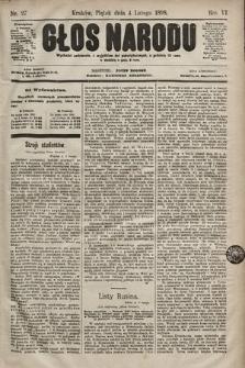 Głos Narodu. 1898, nr27