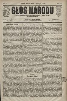 Głos Narodu. 1898, nr31