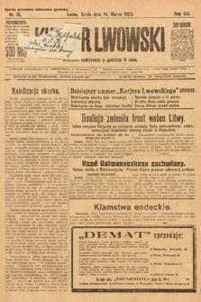 Kurjer Lwowski. 1923, nr61