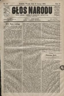 Głos Narodu. 1898, nr36