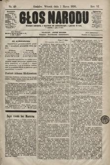 Głos Narodu. 1898, nr48