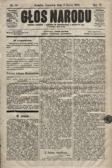 Głos Narodu. 1898, nr50