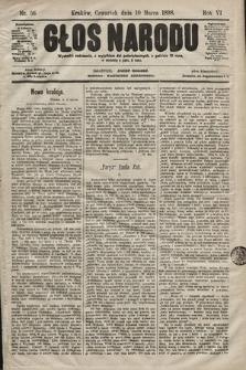 Głos Narodu. 1898, nr56