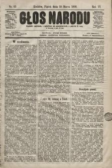 Głos Narodu. 1898, nr63