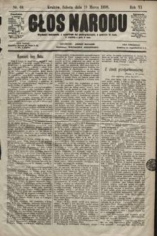Głos Narodu. 1898, nr64