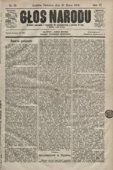 Głos Narodu. 1898, nr65