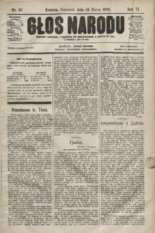 Głos Narodu. 1898, nr68