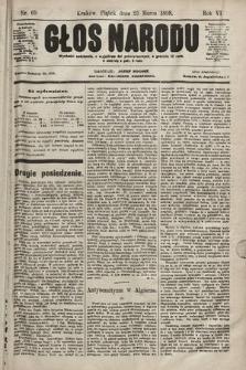 Głos Narodu. 1898, nr69