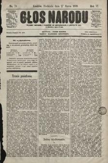 Głos Narodu. 1898, nr70