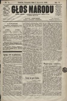 Głos Narodu. 1898, nr79