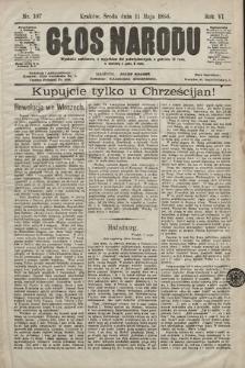 Głos Narodu. 1898, nr107