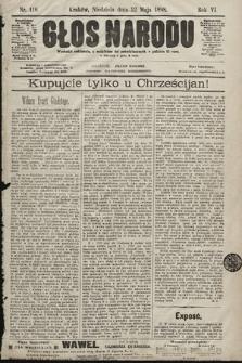 Głos Narodu. 1898, nr116
