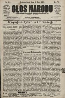 Głos Narodu. 1898, nr118