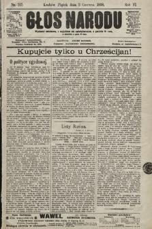 Głos Narodu. 1898, nr125
