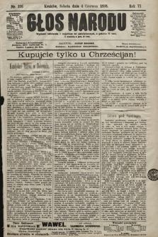 Głos Narodu. 1898, nr126