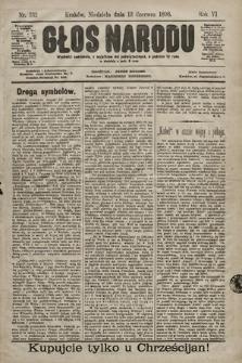 Głos Narodu. 1898, nr132