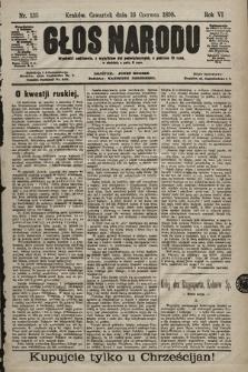 Głos Narodu. 1898, nr135