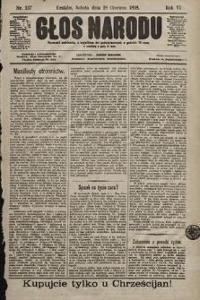 Głos Narodu. 1898, nr137