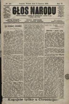 Głos Narodu. 1898, nr139