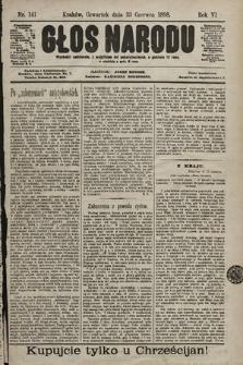 Głos Narodu. 1898, nr141