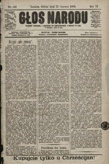Głos Narodu. 1898, nr143