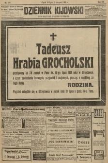 Dziennik Kijowski : pismo polityczne, społeczne i literackie. 1913, nr186