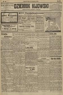 Dziennik Kijowski : pismo polityczne, społeczne i literackie. 1913, nr193