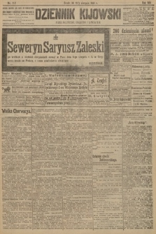 Dziennik Kijowski : pismo polityczne, społeczne i literackie. 1913, nr212