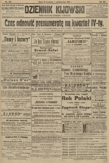 Dziennik Kijowski : pismo polityczne, społeczne i literackie. 1913, nr245