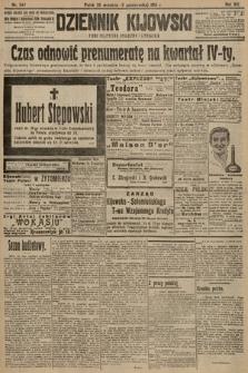 Dziennik Kijowski : pismo polityczne, społeczne i literackie. 1913, nr247