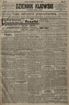 Dziennik Kijowski:pismo polityczne, społeczne iliterackie. 1909, nr136