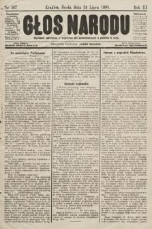 Głos Narodu. 1895, nr167