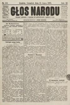 Głos Narodu. 1895, nr168