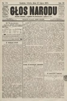 Głos Narodu. 1895, nr170