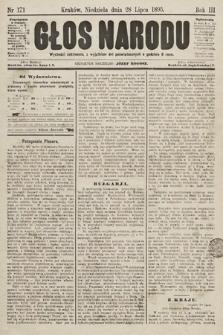 Głos Narodu. 1895, nr171