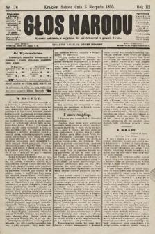 Głos Narodu. 1895, nr176