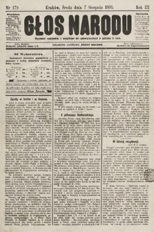 Głos Narodu. 1895, nr179
