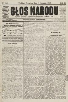 Głos Narodu. 1895, nr180