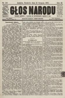 Głos Narodu. 1895, nr183