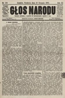 Głos Narodu. 1895, nr188
