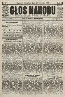 Głos Narodu. 1895, nr197