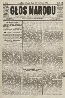 Głos Narodu. 1895, nr198
