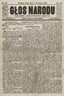 Głos Narodu. 1895, nr202