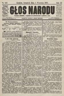 Głos Narodu. 1895, nr203