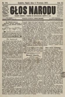 Głos Narodu. 1895, nr204