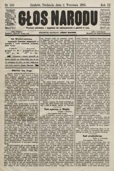 Głos Narodu. 1895, nr206